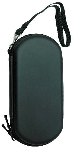 Black Sony Psp Carrying Case Bag Portable Pouch+Lanyard