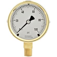 NOSHOK 300 Series Pressure Gauge