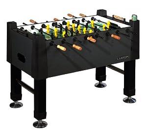 Carrom 515.00 Signature Foosball Table (Black Marble)