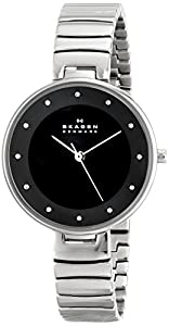 Skagen Women's SKW2225 Gitte Quartz 3 Hand Stainless Steel Silver Watch