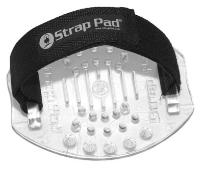 STRAP PAD SNOWBOARD SNOWBOARDING STOMP PAD SECURE TRACTION WITH ADJUSTABLE STRAP