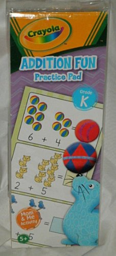 Crayola Addition Fun Practice Pad - Grade K - 1