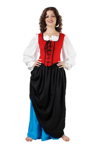 Armor Venue Women's Double-Layer Medieval Skirt - Medieval Costume