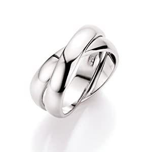 Spirit - New York Damen-Ring 925 Sterling Silber Gr.54 (17.2) 93001393540