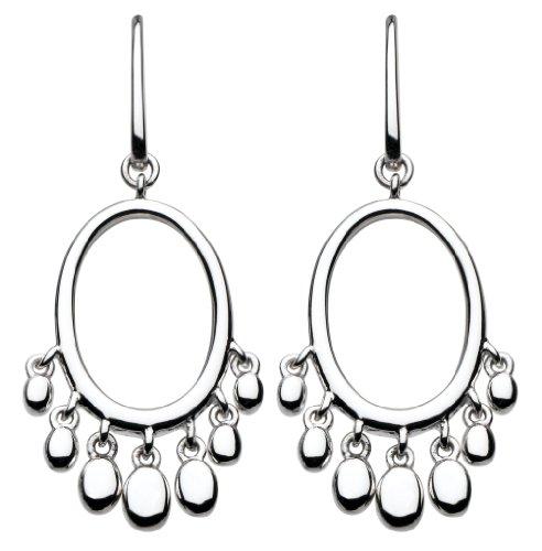 Kit Heath Sterling Silver Shingle Earrings