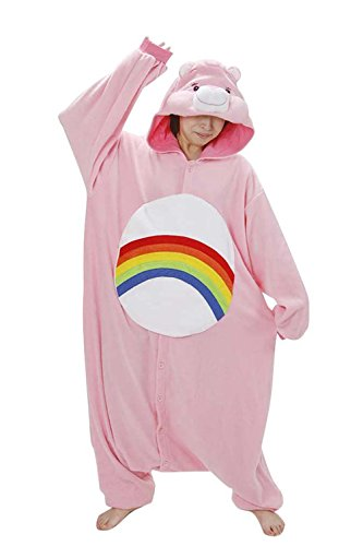 Foresightrade Adults and Children Animal Cosplay Costume Pajamas Onesies Sleepwear S (Adult Care Bear Costume compare prices)