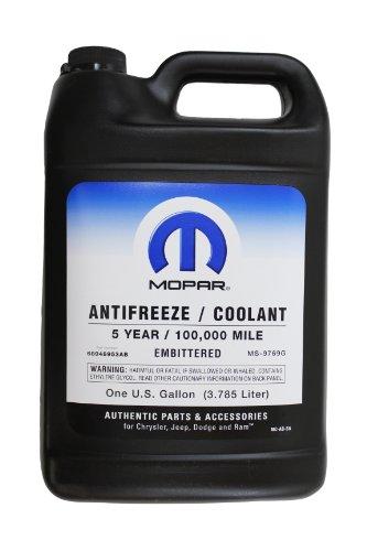 Genuine Mopar Fluid 68048953AB Antifreeze/Coolant - 1 Gallon Bottle (Radiator Antifreeze compare prices)