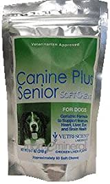 Canine Plus Senior Soft Chewables 60 Chewable by Vetri-Science