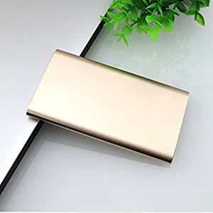 BMR 4000mAh Ultra Slim Lithium Polymer Pocket Size Portable Power Bank (External Battery Charger) with 2.1A Output for iPhone 6, 6S, 5S, 5C, 5, 4S, iPad Air, mini, Galaxy S5, S4, S3, Note 3, Nexus 4, HTC One, One 2 (M8), Blac