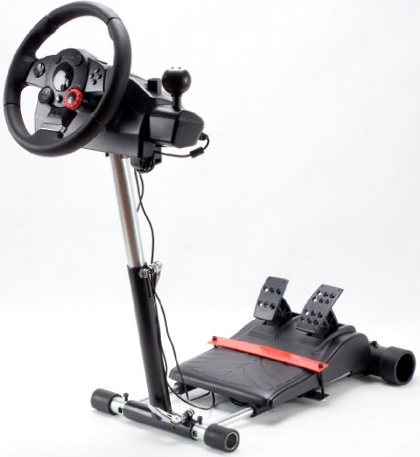 Racing Steering Wheel Stand for Logitech Driving Force Pro, GT, EX and DriveFX Wheels