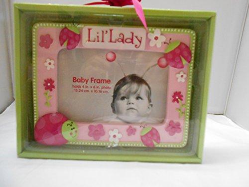 Baby Essentials Lil Pink Ladybug Frame
