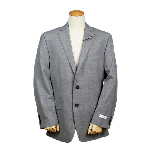 (カルバンクライン) Calvin Klein テーラードジャケット [グレー] MDNA1 メンズビジネス スーツ 38 GREY (並行輸入品)