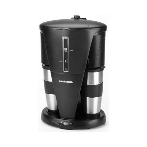 Dual Filter Coffee Maker : Spacemaker Coffee Maker: Black & Decker DDCM200 Dual Personal Coffeemaker, Black and Stainless