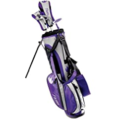 Intech Flora Junior Girls Golf Club Set (Right-Handed, Age 8-12) by Intech