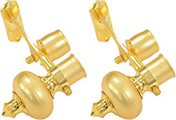 ACE Brass Double Curtain Bracket (Gold)