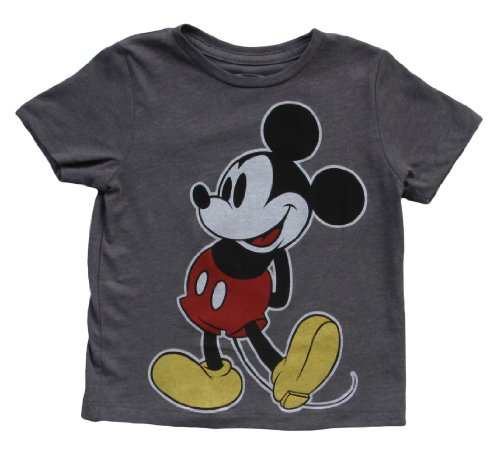 Little Boys' Facing Left Classic Mickey Mouse T-Shirt