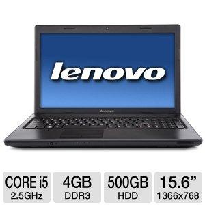 Lenovo G570 43349KU 15.6-Inch Laptop (Black Textured)