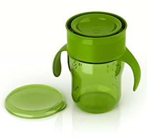Philips Avent BPA Free Natural Drinking Cup, Green, 1 Count, 9 Ounce