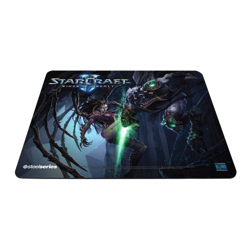 SteelSeries QcK Gaming Surface Mousepad - StarCraft II Wings Of Liberty Kerrigan vs Zeratul Limited Edition (PC)