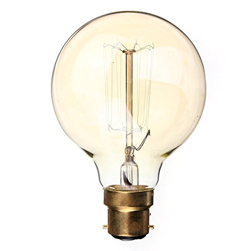 Toogoo R B22 Bc Bayonet 40w Filament Light Bulb Large