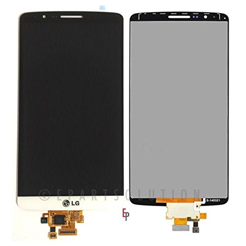 Epartsolution-Oem Lg G3 D850 D851 D855 Vs985 Lcd Display Touch Digitizer Screen Assembly White Replacement Part Usa Seller