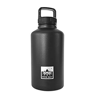 Pine Sky Juggernaut Vacuum Insulated Beer Growler and Water Bottle