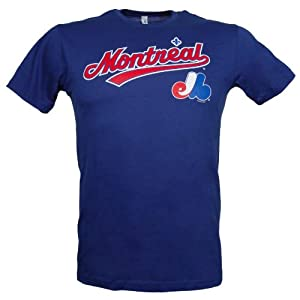 Montreal Expos City Pride Script T-Shirt by Bulletin