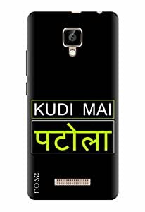 Noise Designer Printed Case / Cover for Lava A48 / Quotes/Messages / Kudi Mai Patola