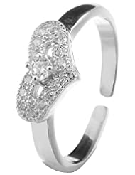 Jewels Cart Sterling Silver Toe Ring For Women - B018QT6HDU