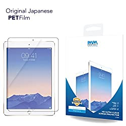 iPad Air 5 Papa Protect HD Clear Screen Protector | Pack of 2 Film Protectors | Original Japanese PET Film | True Touch | Perfect Fit | Scratch Protection | Unmatched Clarity | Bubble Free Application | Lifetime Warranty