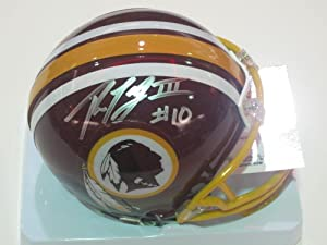 Robert Griffin III Washington Redskins Rookie Signed Autographed Mini Helmet... by Riddell