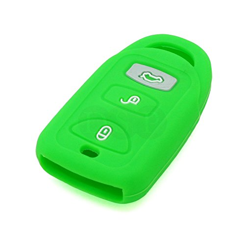fassport-silicone-cover-skin-jacket-fit-for-hyundai-kia-3-button-smart-remote-key-cv4106-light-green