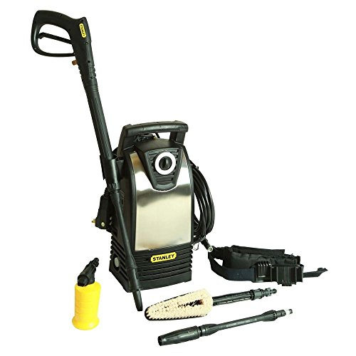 Stanley 1600 Psi 1.4 Gpm Electric Pressure Washer With Accessories Included