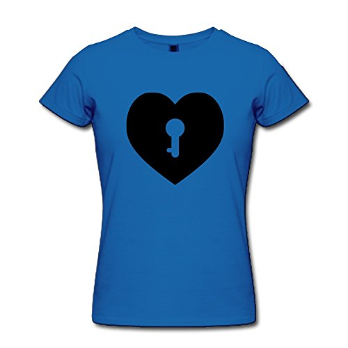 Hd-Print Women'S T Shirt Love Xs Royalblue