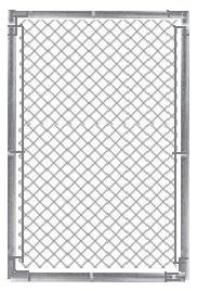 Galv Chain Link Fence gate 4x6