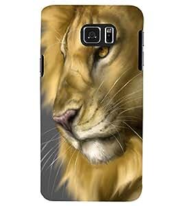 PRINTSWAG LION Designer Back Cover Case for SAMSUNG GALAXY NOTE 5 EDGE
