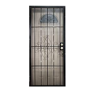 leslie locke 50730x80 laguna 30 inch by 80 inch security For30 Inch Storm Door