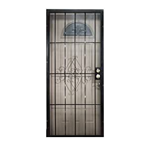 Leslie locke 50732x80 laguna 32 inch by 80 inch security for 32x80 storm door