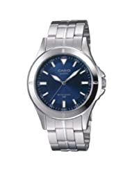 Casio Analog Blue Dial Men's Watch - MTP-1214A-2AVDF (A343)