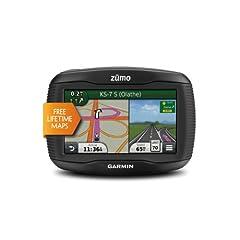 Garmin Zumo 390LM 4.3-Inch Motorcycle GPS Navigator by Garmin