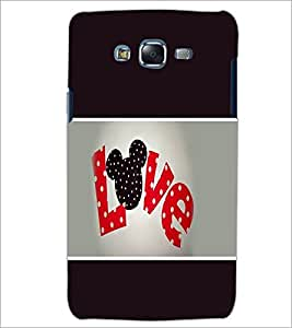 PrintDhaba Love D-1365 Back Case Cover for SAMSUNG GALAXY J5 (Multi-Coloured)