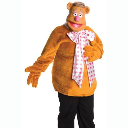Muppets - Fozzie Bear Adult Costume (Men's Adult Costume)