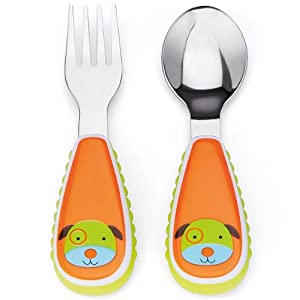 Skip Hop ZOOtensils Fork and Spoon, Dog