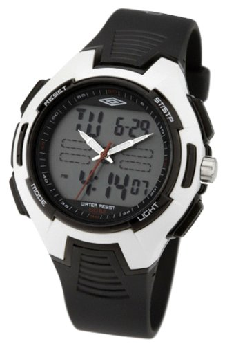 Umbro Gents U571B Analogue Digital Watch with Black Strap