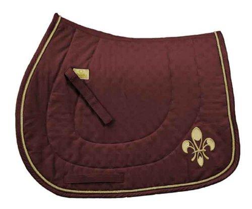 Cheap Equine Couture Equine Couture Fleur De Lis All Purpose Saddle Pad Navy 7d468fe12