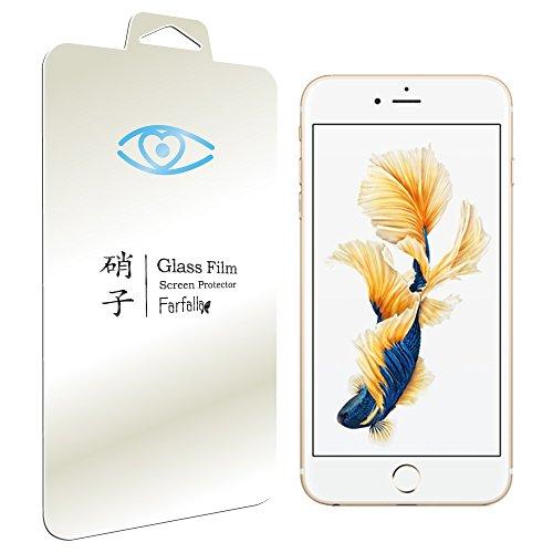 Farfalla Apple iPhone 6 plus / 6s plus ブルーライト92%カット [AGC旭硝子使用] [安心交換保証付] [コーティング5時間施工] 強化ガラス液晶保護フィルム 0.3mm (iPhone 6 plus/6s plus 0.3mm BLC)