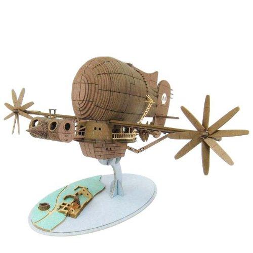 Laputa - Castle In The Sky - Miniatuart Papercraft Kit - Tiger Moth MK07-17