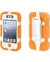 Griffin Orange/White Heavy Duty Survivor Case for iPhone 4/4s