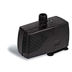 Sunterra 200850 Pond Pump, 850 GPH, Black