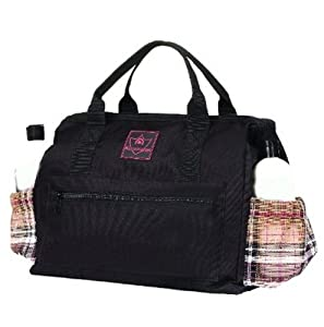 Kensington KPP All Around Zippered Show Tote, Deluxe Red Plaid, One Size